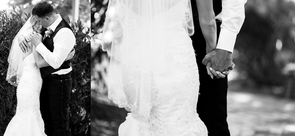 black&white, hands, holding, tender, romantic, couple, wedding