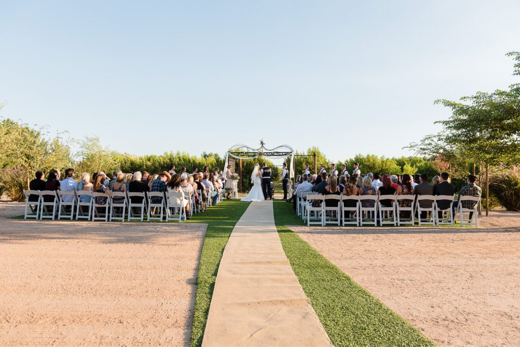 burlap, runner, wedding, guests