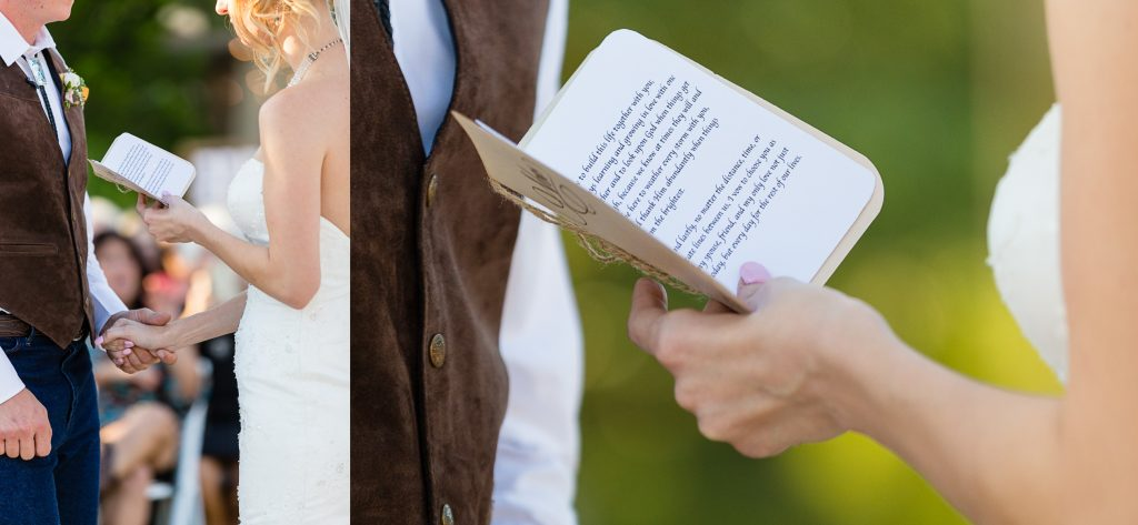 vows, books, wedding, inspiration