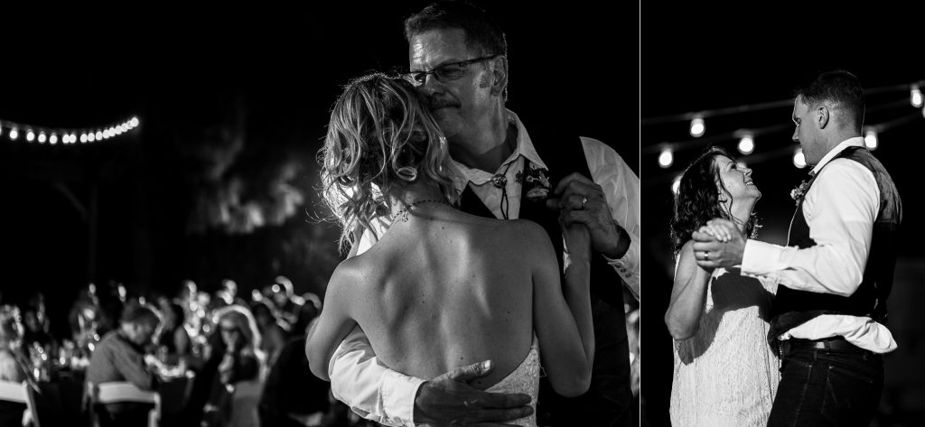 wedding, dances, father, mother, black&white, sweet