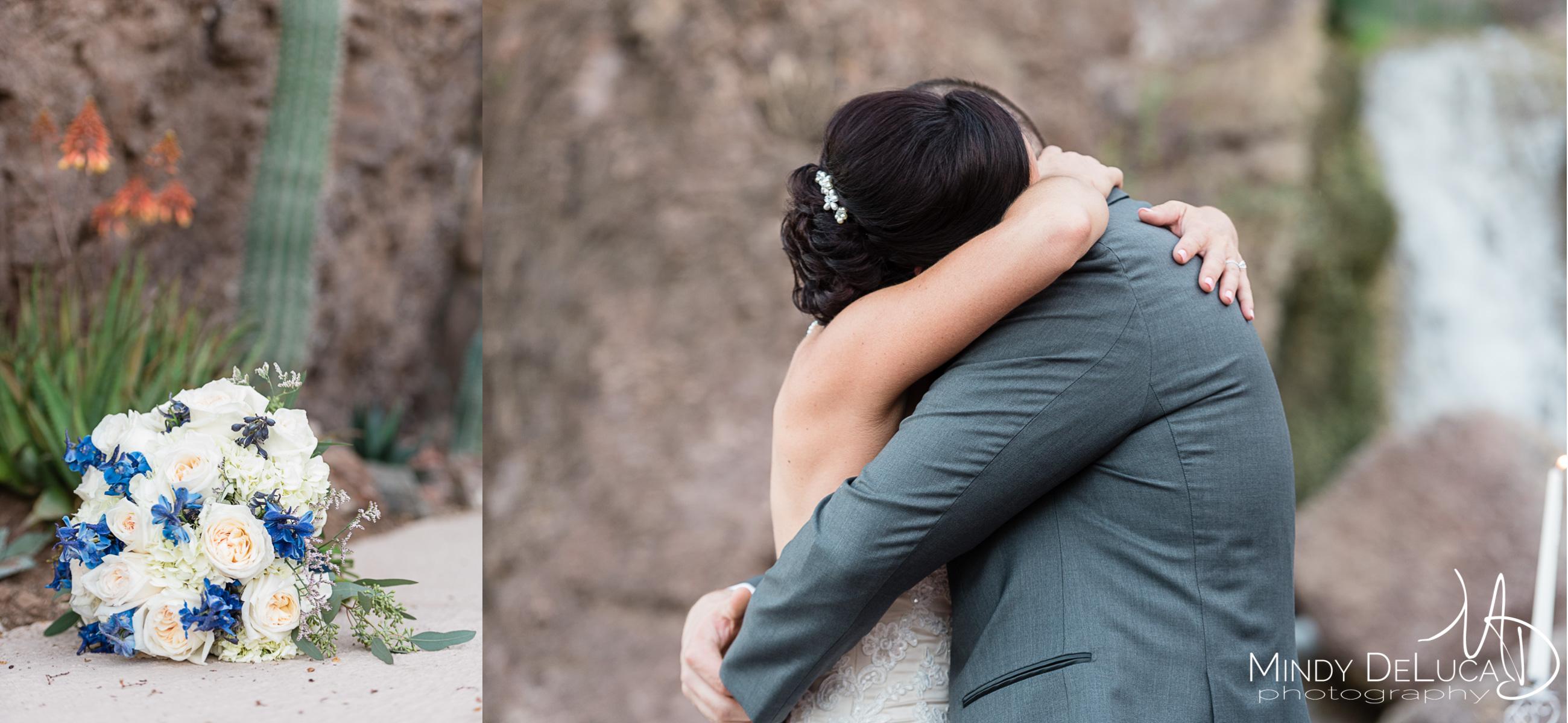 First kiss, wedding bouquet