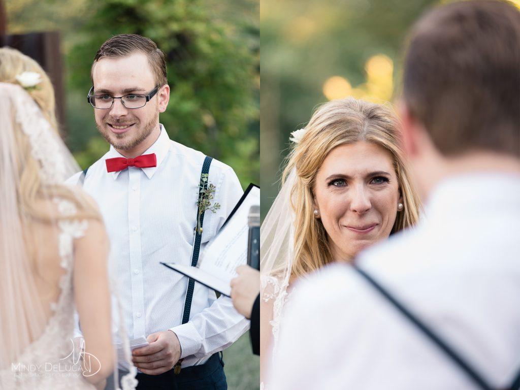 Romantic emotional wedding vows