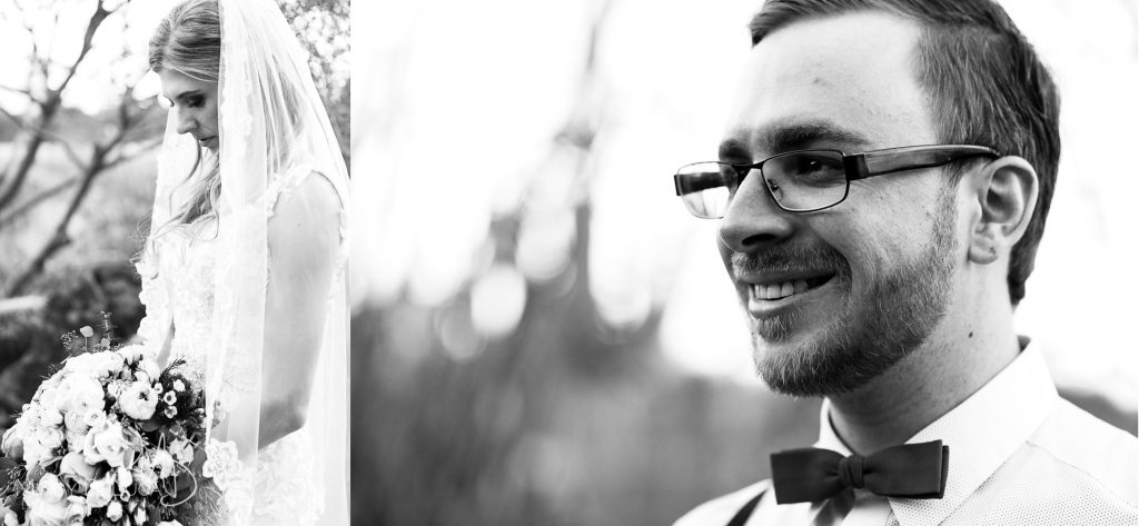 Bridal and groom portraits