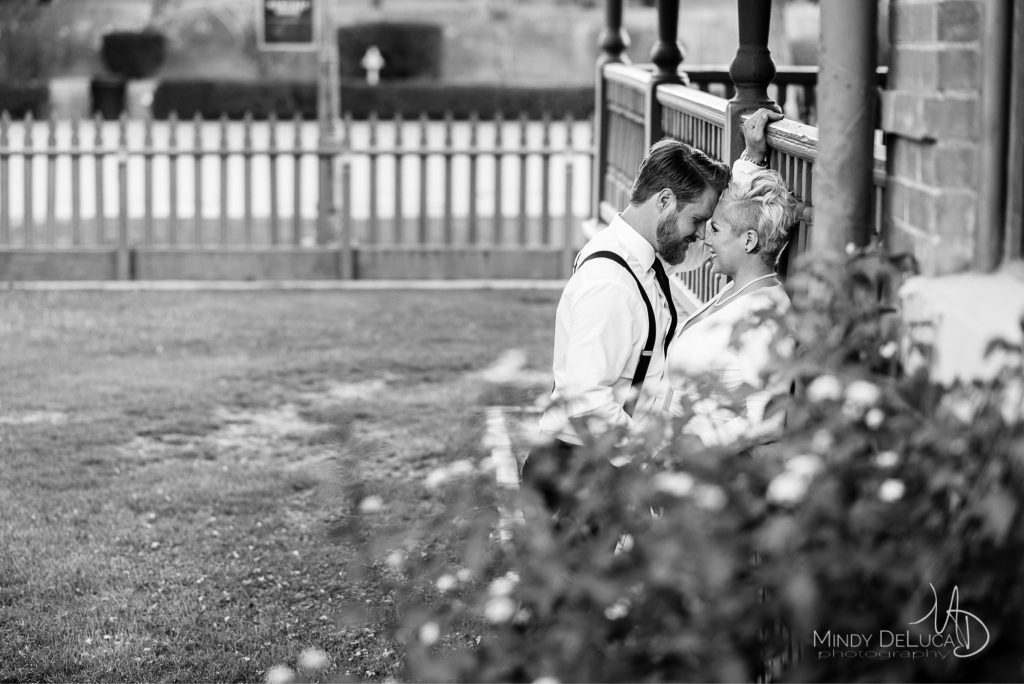 Heritage Square Candid Engagement Photo
