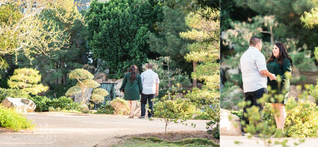 Japanese Garden romantic photo